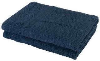 2 Pakker Håndklær - 70x140cm - Blå - Borg Living