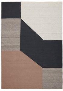 Linie Design Blocchi Teppe Powder 200x300 cm