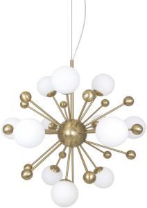 Globen Lighting Pendel Copernicus Antikkmessing