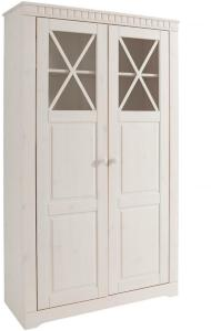 Bloomington Sermaise Kommode 90 cm - Hvit