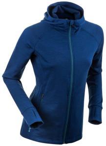 Bjørn Dæhlie Women's Full Zip Wool, Estate Blue, L
