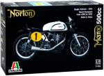 Norton Manx 500cc 1951 Italeri 1:9 Byggesett