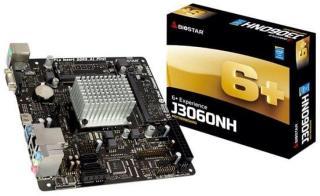 BIOSTAR J3060NH - motherboard - mini ITX - Intel Celeron J1800 Hovedkort - socket - DDR3 RAM - Mini-ITX J3060NH