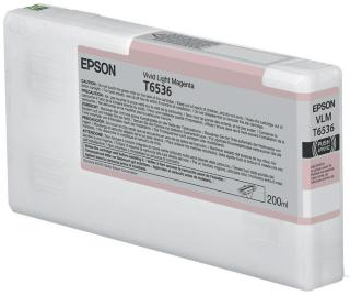 Epson Blekk T6536 Vivid Light magenta