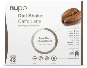 Nupo Caffe Latte Kjempekjøp - 1344g