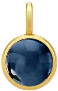 Julie Sandlau Primini Pendat - Gold/Sapphire Halskjede Anheng Blå Julie Sandlau Women