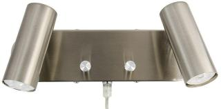 Spotlight Sateng GU10 2xMini Vegglampe Oriva