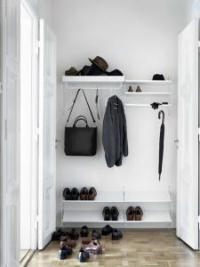Garderobesystem Hvit L String