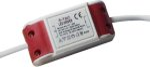 V-Tac V-Tac 8W driver til 8W panel downlight - NON dimbar, 230V