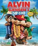 Alvin og gjengen 3 (2 disc) (BD+DVD)