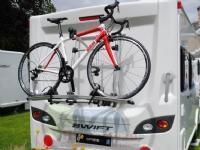 Thule Omni-Bike Excellent Short, bike rack(silver / black, for 2 bicycles)