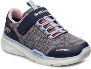Skechers Girls Equalizer 3.0 Sneakers Sko Grå Skechers