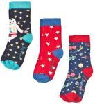 Frugi Space 3-Pack Socks Multi UK 9-12