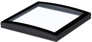 VELUX Glass buet 0-15° tak 100x100 del 2 vindu for flate tak