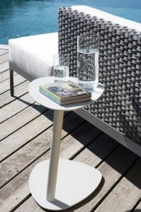 Ethimo Sidebord Smart, 2-Pk Unisex Varm hvit