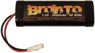 Bronto 7.2V 3000mAh - Bronto SP - Ni-Mh - Tamiya plugg