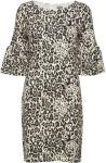 SAINT TROPEZ Animal P Jersey Dress Kort Kjole Multi/mønstret SAINT TROPEZ