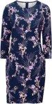Saint Tropez Kjole Jersey Dress Women Ant. blue