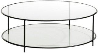 Am.Pm Rundt bord, Sybil Unisex Black mdf / metall