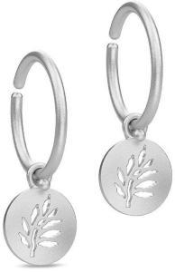 Julie Sandlau Signature Mini Hoop - Rhodium Øredobber Smykker Sølv Julie Sandlau Women