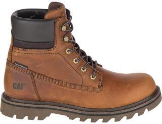 Cat Men's Deplete Waterproof Boot, Brown, 46