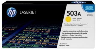 HP 503A Tonerkassett gul, 6.000 sider Q7582A Tilsvarer: N/A HP