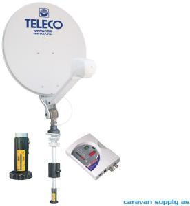 Parabolantenne Teleco Voyager Digimatic 85cm m/mast manuell