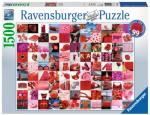 99 Beautiful Red Things 1500 biter Ravensburger Puzzle Puslespill