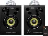 Hercules DJSpeaker 32 Party Aktiv monitor-højtaler 7.6 cm 3 tommer 30 W 1 pair