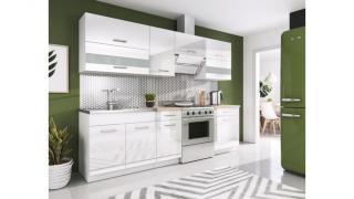 Kjøkken Rio hvit 240cm