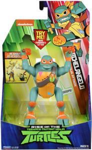 Teenage Mutant Ninja Turtles Deluxe Ninja Attack figur - Michelangelo - 14 cm