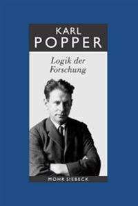 Karl R. Popper-Gesammelte Werke: Band 3: Logik Der Forschung Mohr Siebeck
