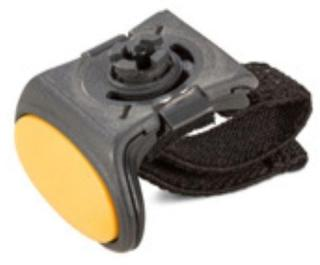 HONEYWELL Ring Scanner Complete Trigger Assembly. Includes snap-on style elastic finger strap kit (8600500RINGTRGR)