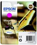 Epson Blekkpatron magenta (Epson 16), 165 sider T1623 Tilsvarer: N/A Epson
