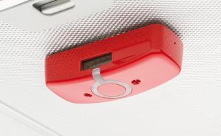 Rødt deksel til komfyrvakt sensor