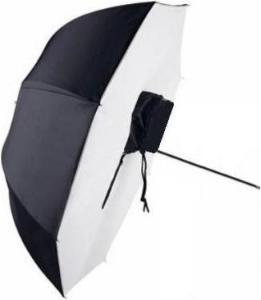 Paraplyboks Reflektiv Hvit - 65 cm