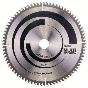 Sagblad for tre Bosch MULTI MATERIAL Ø254 mm