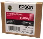 Epson Vivid Magenta 80 ml blekkpatron T580A - Epson Pro 3880
