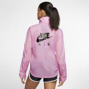 Nike Air løpejakke med hel glidelås til dame - Pink XL