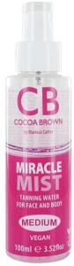Cocoa Brown Tan Miracle Mist Tanning Water Medium