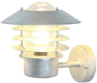 Vegglampe Ecolite Orion Up Galvanisert