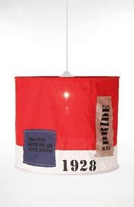 Globen Lighting Pendel Newport Rød