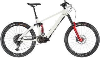 Norco Bicycles Range VLT C1 eggshell white/rockshox red M   40,5cm (27.5) 2020 Fulldempet El-sykkel