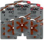 RAYOVAC Extra Advanced ACT 312 brun 5-pakk