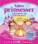 Vakre prinsesser. Alt i ett-aktivitetsbøker Spektrum