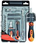 Q-Tools pipenøkkel- og bitssett 37 deler