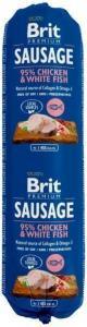 Brit pølse med kylling og hvit fisk 800g