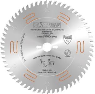 Sagblad for tre CMT 250x3,2x30 Z60 10°