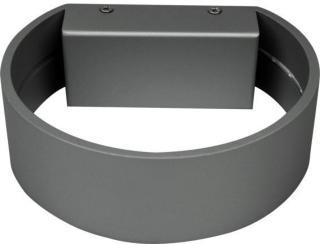 Namron Vegglys Rhea Sølv 6W LED IP20 3225480 Taklampe / Vegglampe