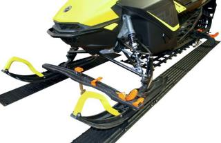 0 Superclamp lastesikringssystem for snø scooter Fram